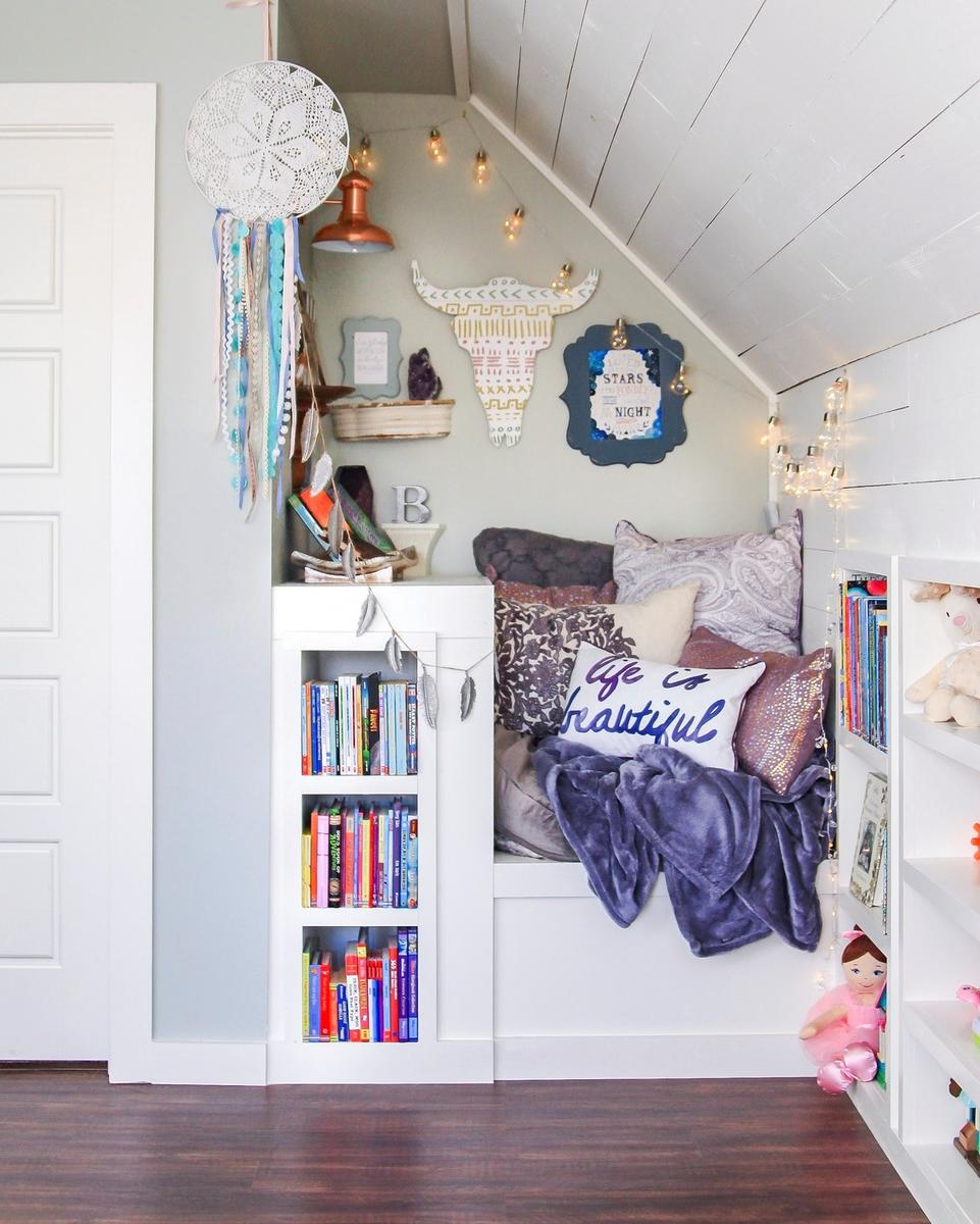 6 Genius Ways to Create a Book Nook