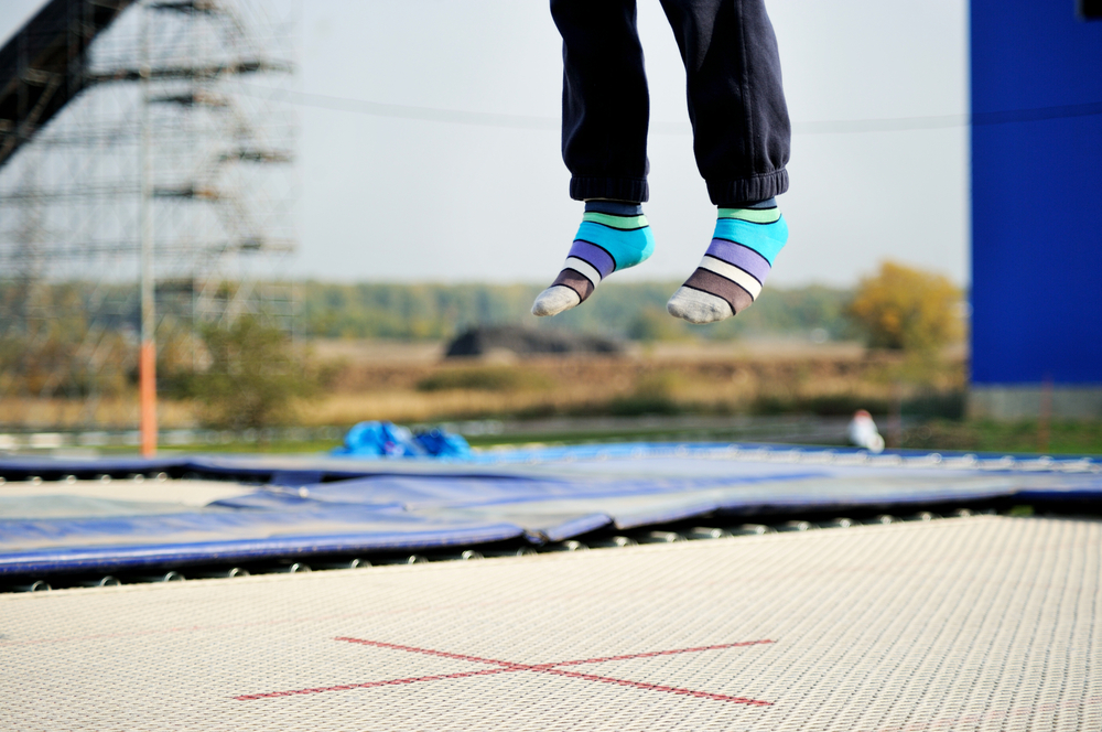 Mom's Post Warns About the Dangers of Trampoline Parks for Toddlers