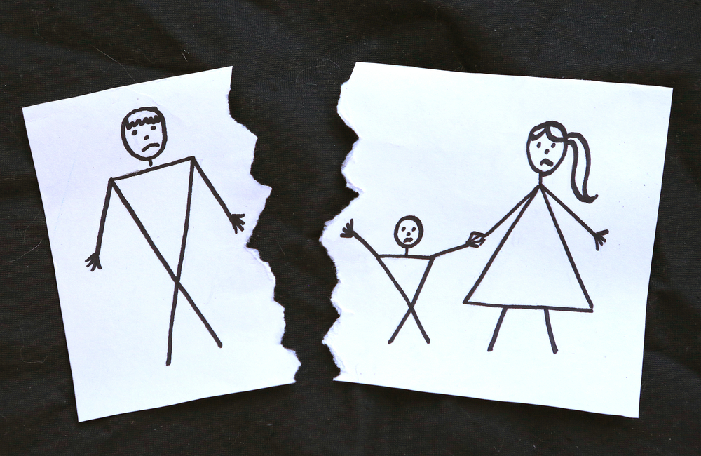 Loss of Father Drawing