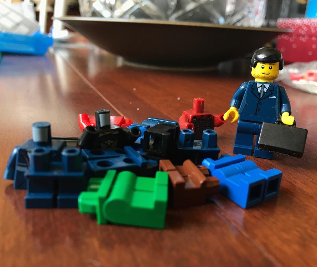Dad Uses Legos to Create Hilarious Scenes Every Parent Will Relate To