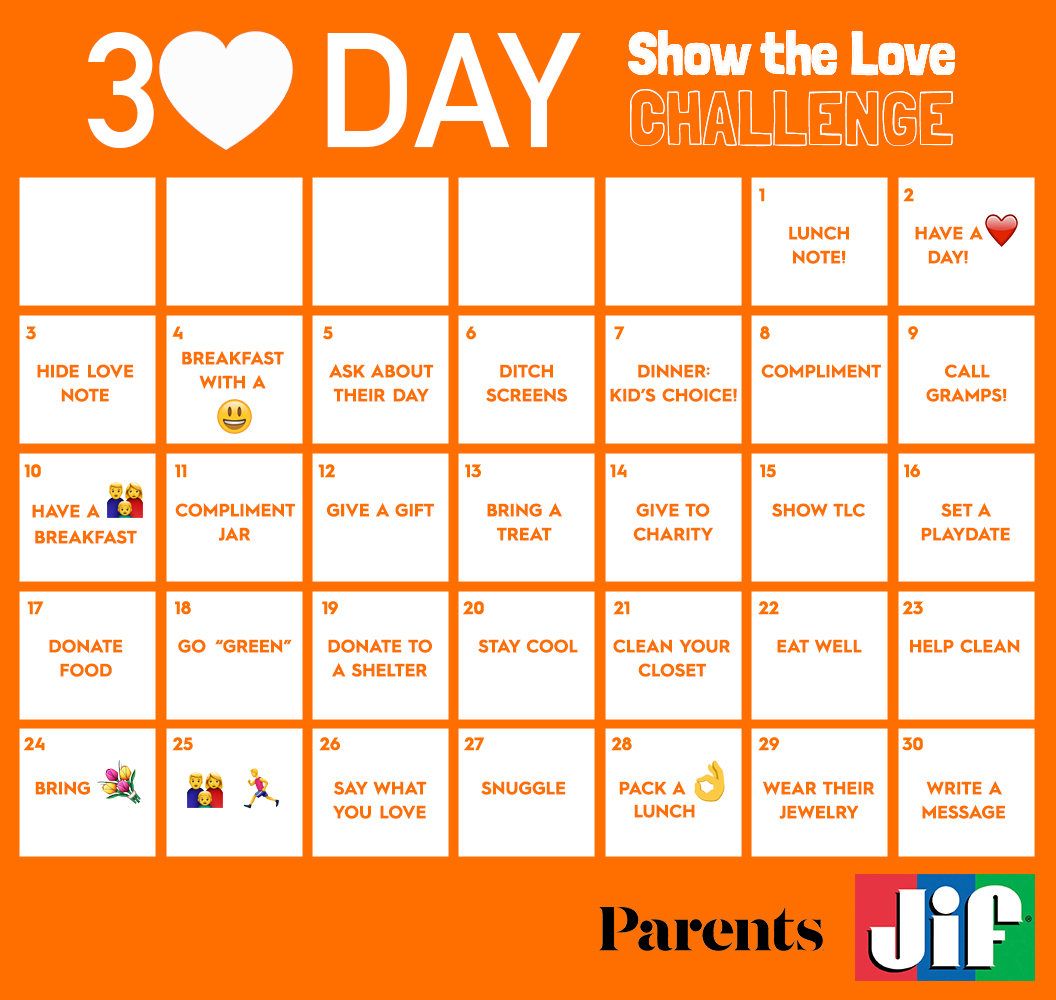 The 30-Day Show the Love Challenge