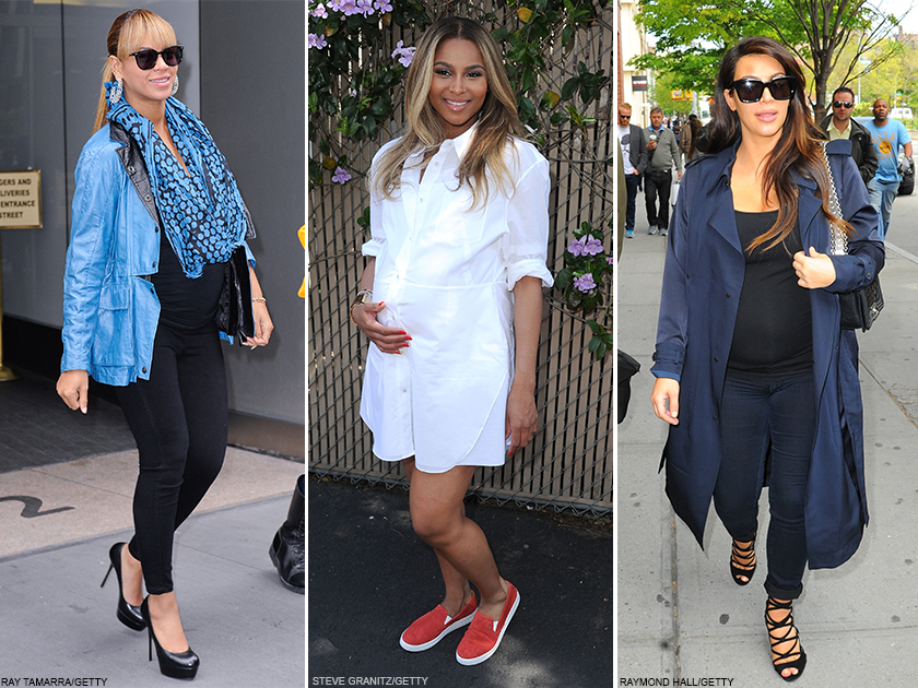 Get These Iconic Celebrity Pregnancy Styles IRL
