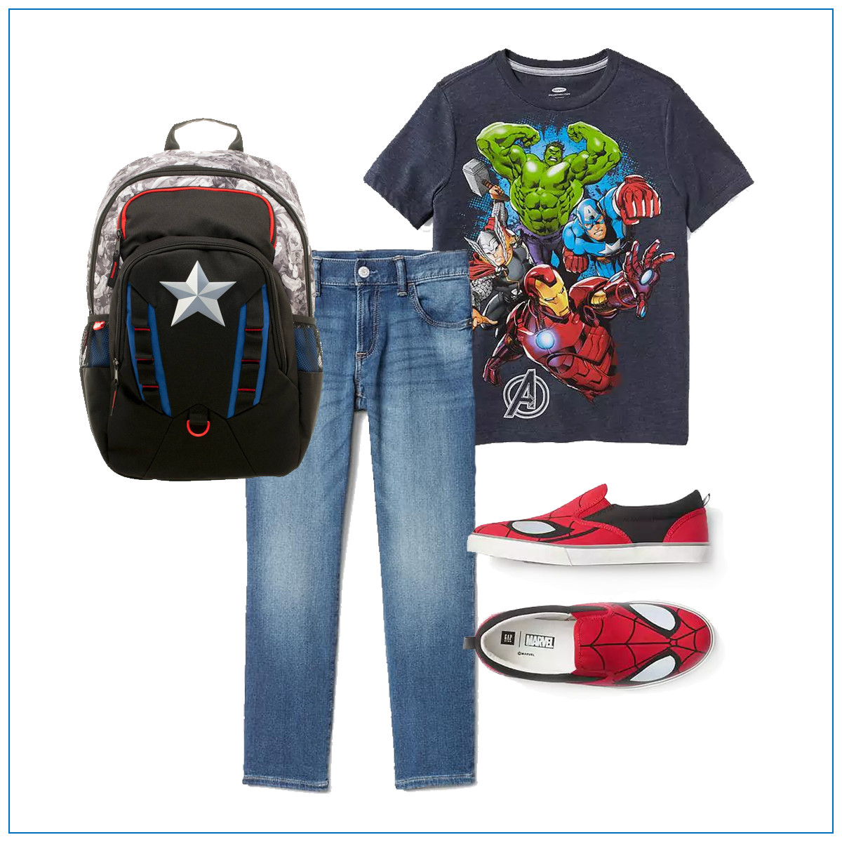 5 Cool Back to School Outfits for Boys