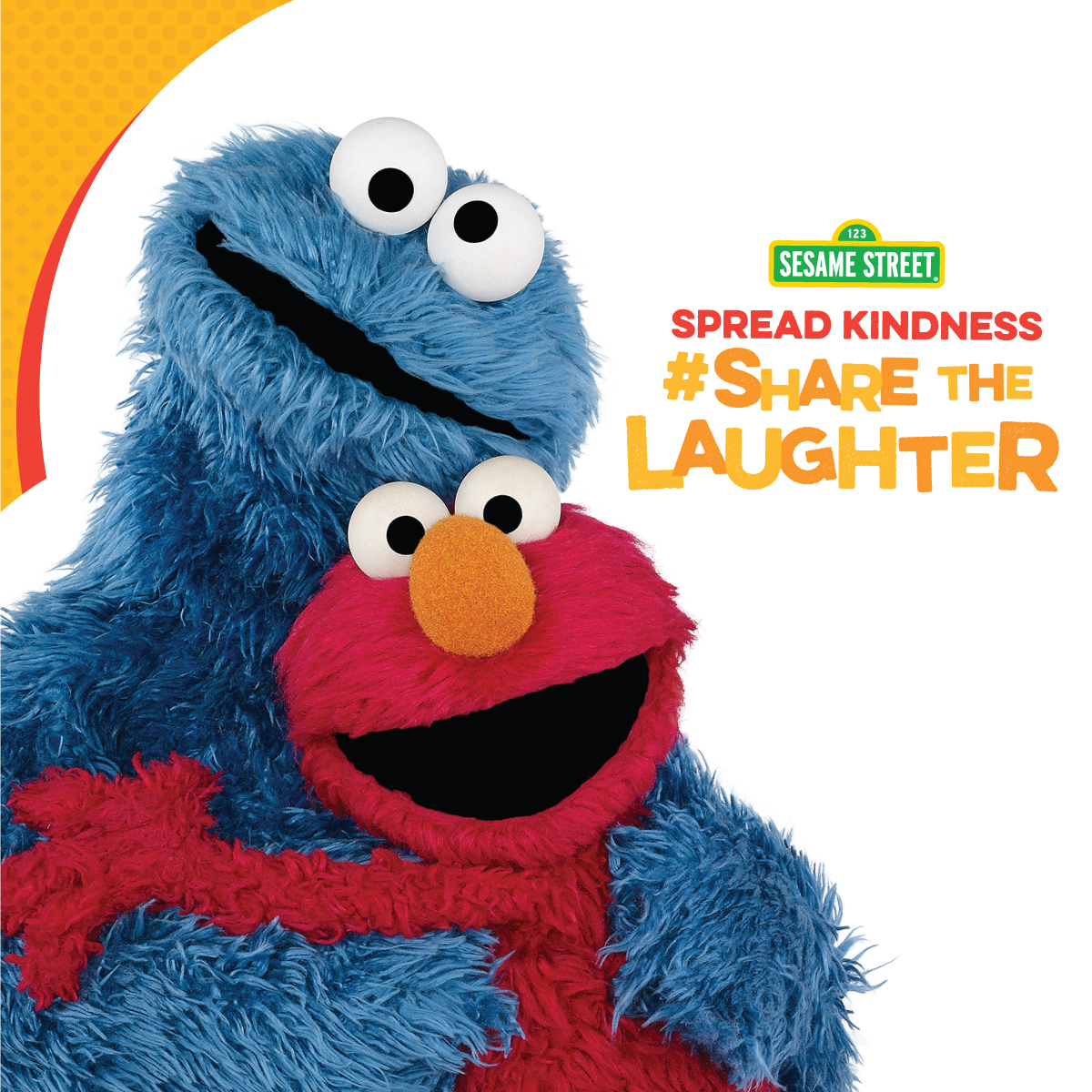 Elmo's #ShareTheLaughter Campaign Wants to Hear Your Jokes