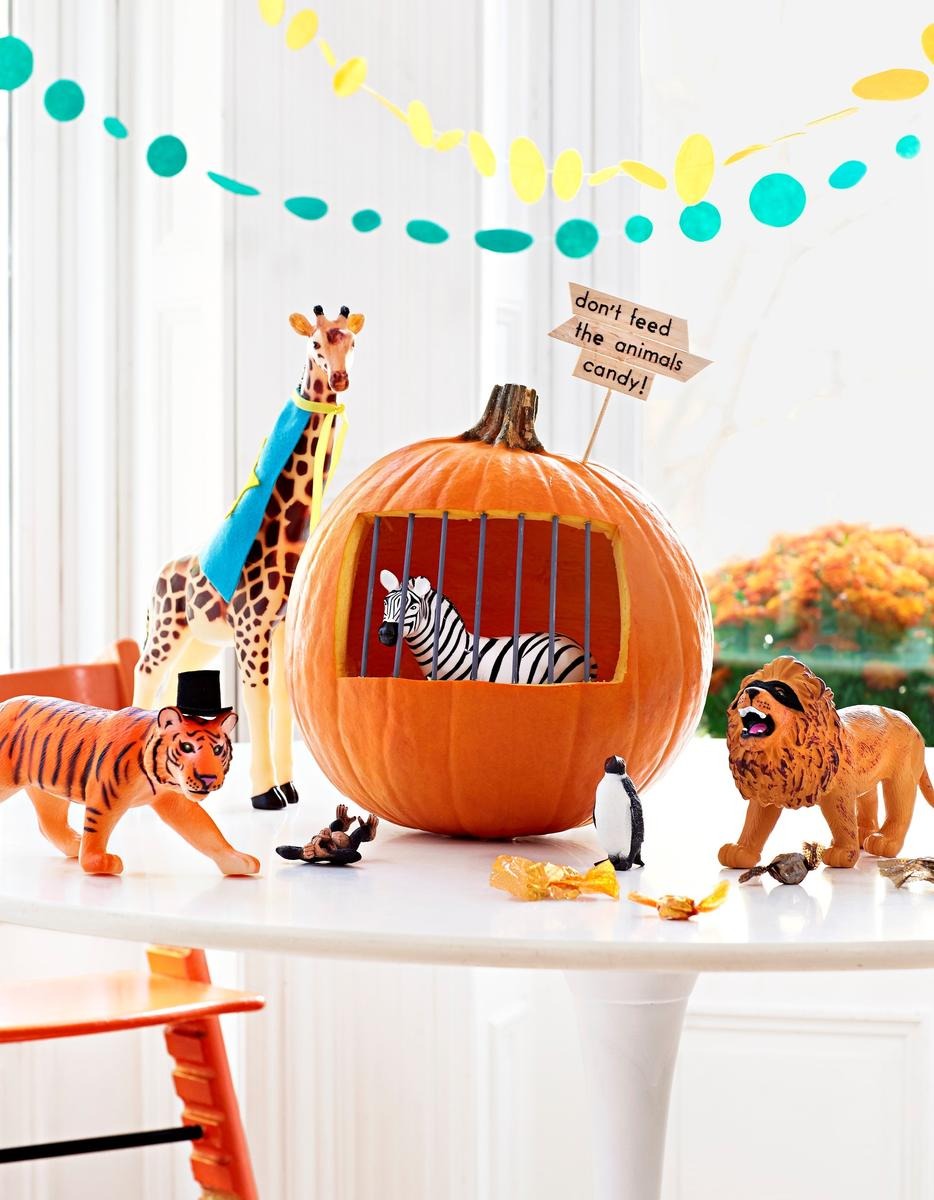 Toy Pumpkin Decorate Boo Zoo