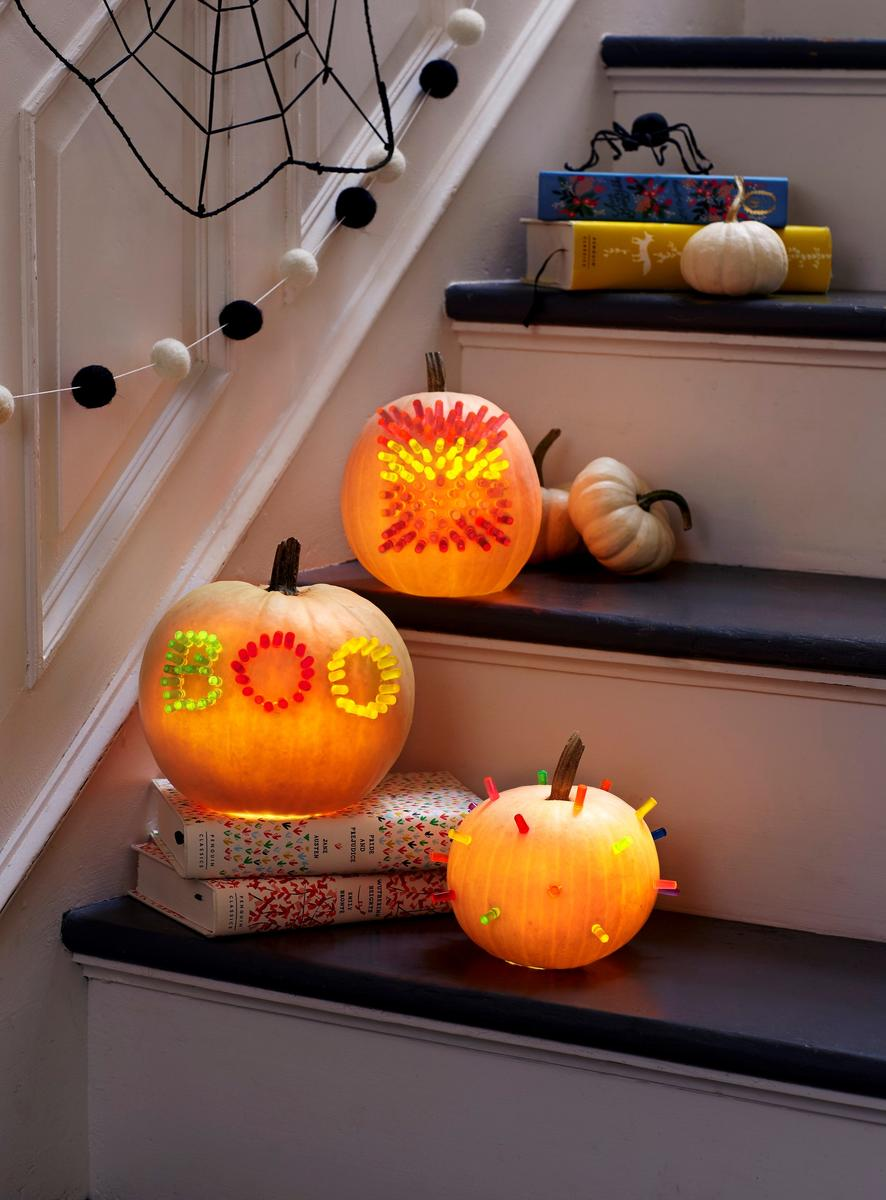 Toy Pumpkin Decorate Bright Idea