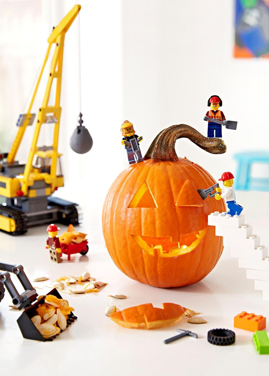 Toy Pumpkin Decorate Builders Special
