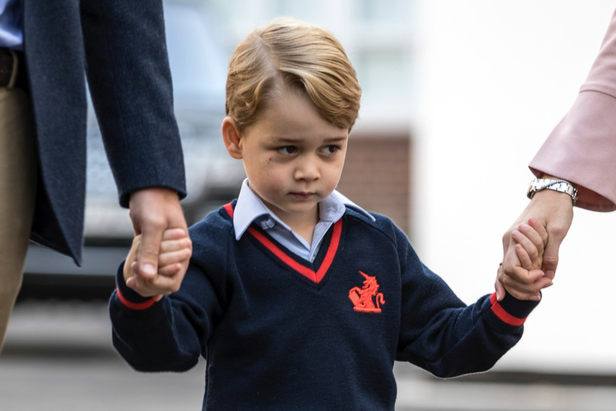 Prince George Wore Pants for the First Time at Royal Wedding (He's Only Allowed to Wear Shorts!)