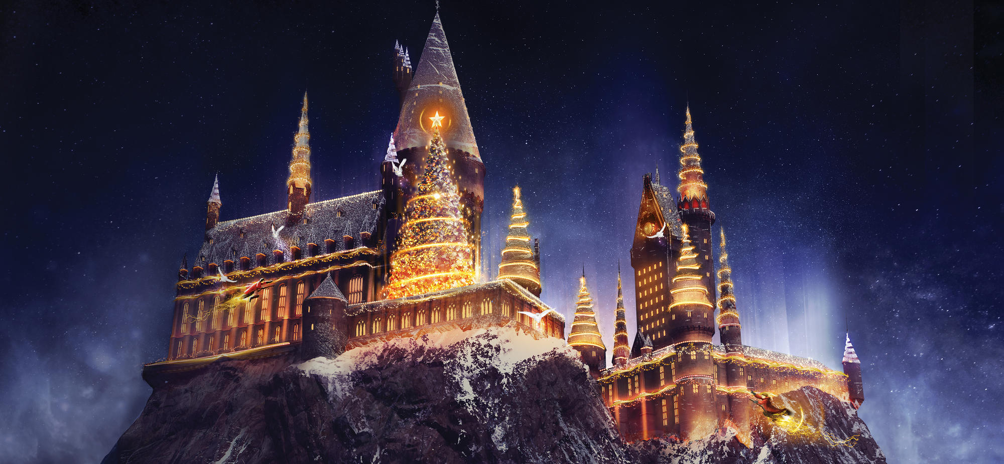 Magical Holiday Places The Wizarding World of Harry Potter
