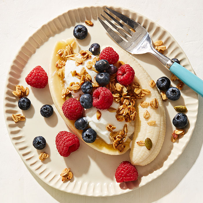 Breakfast-for-Dinner Banana Split