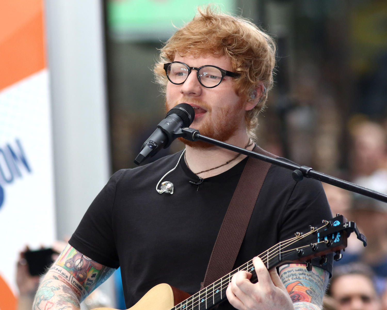 Ed Sheeran Gives a Seriously Sweet Shoutout to a Baby Girl Named After Him