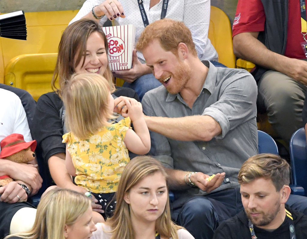Prince Harry and Kid