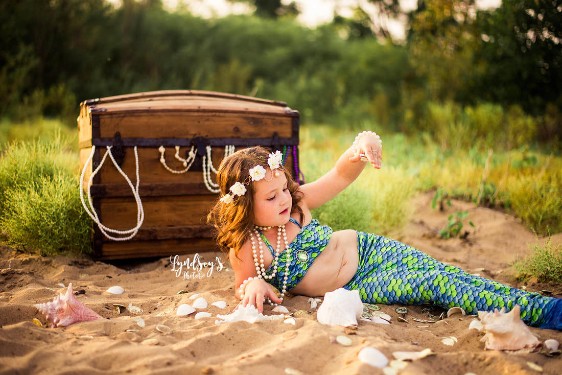 mermaid photo shoot
