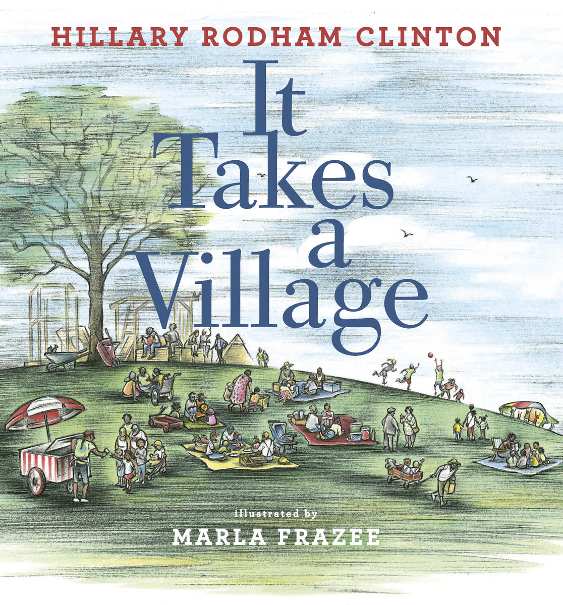 It Takes A Village Hillary Clinton Book