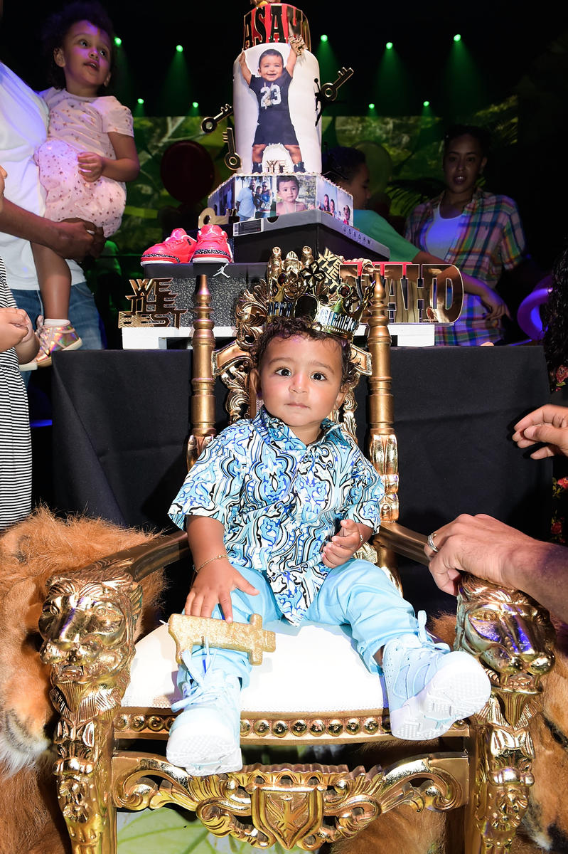 You Won't Believe The First Birthday Party DJ Khaled Threw For His Son Asahd