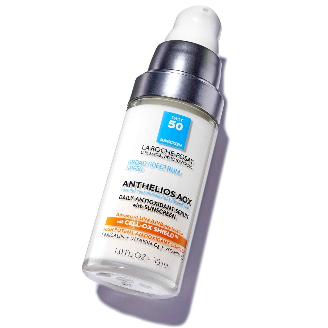 La Roche-Posay Anthelios AOX Daily Antioxidant Face Serum with Sunscreen SPF 50