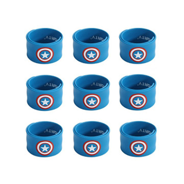 Captain America Slap Bracelets