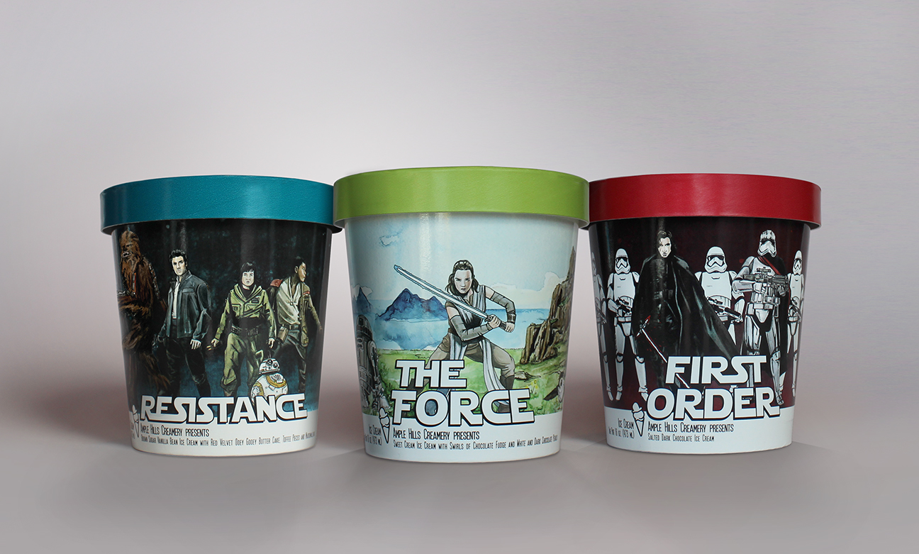 We Tasted the New Star Wars Ice Cream, and It's Out of This World