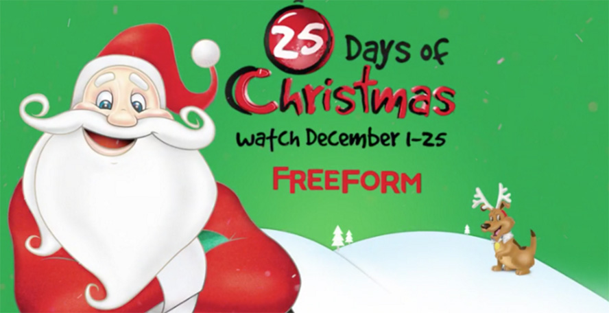 Freeform Just Announced Their '25 Days of Christmas' Schedule for 2017