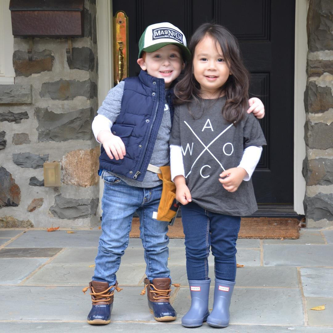These Toddler BFFs Dressed Up as Chip & Joanna Gaines for Halloween