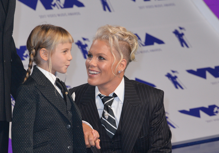 Pink Is Teaching Her Daughter Important Lessons About Boys & Being True to Herself