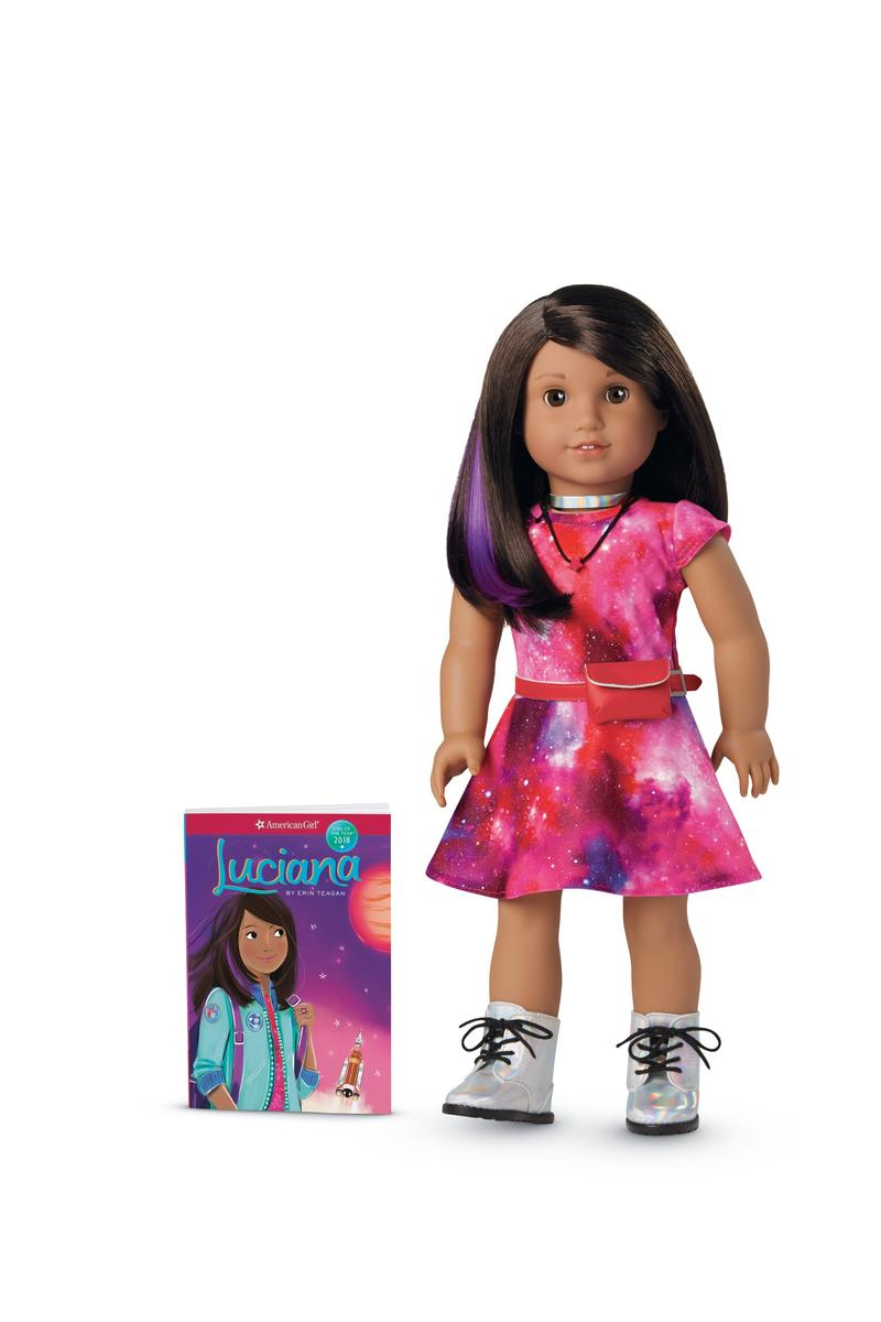 Luciana Doll and Book