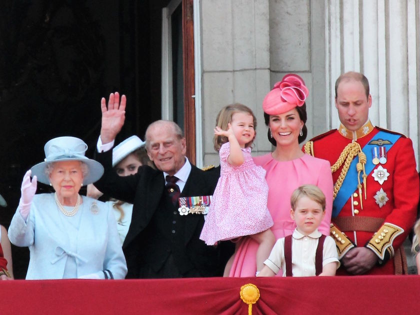 Queen Elizabeth Revealed Princess Charlotte Is More Like a Big Sister to Prince George