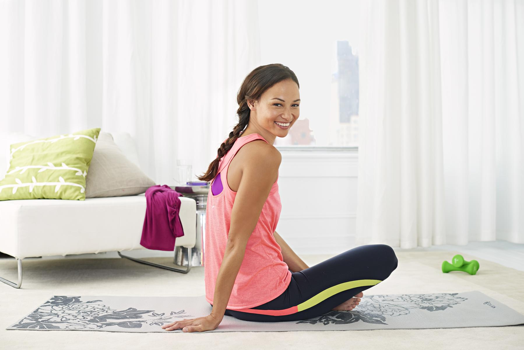 15 Minutes to Total Body Fitness—Anytime, Anywhere