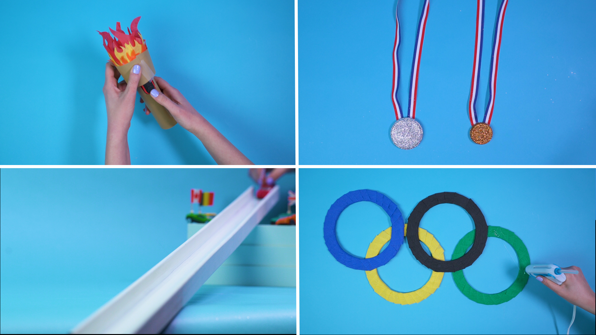 Easy Family Crafts for the Olympics