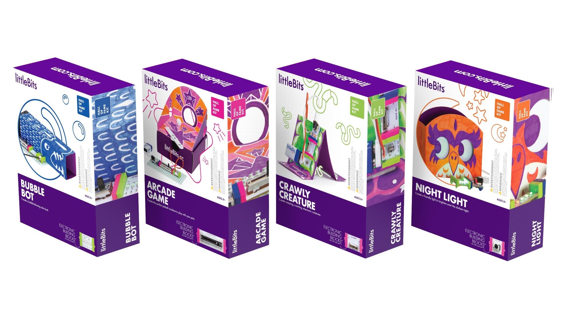FF Toy Fair 2018 LittleBits Hall of Fame Kits