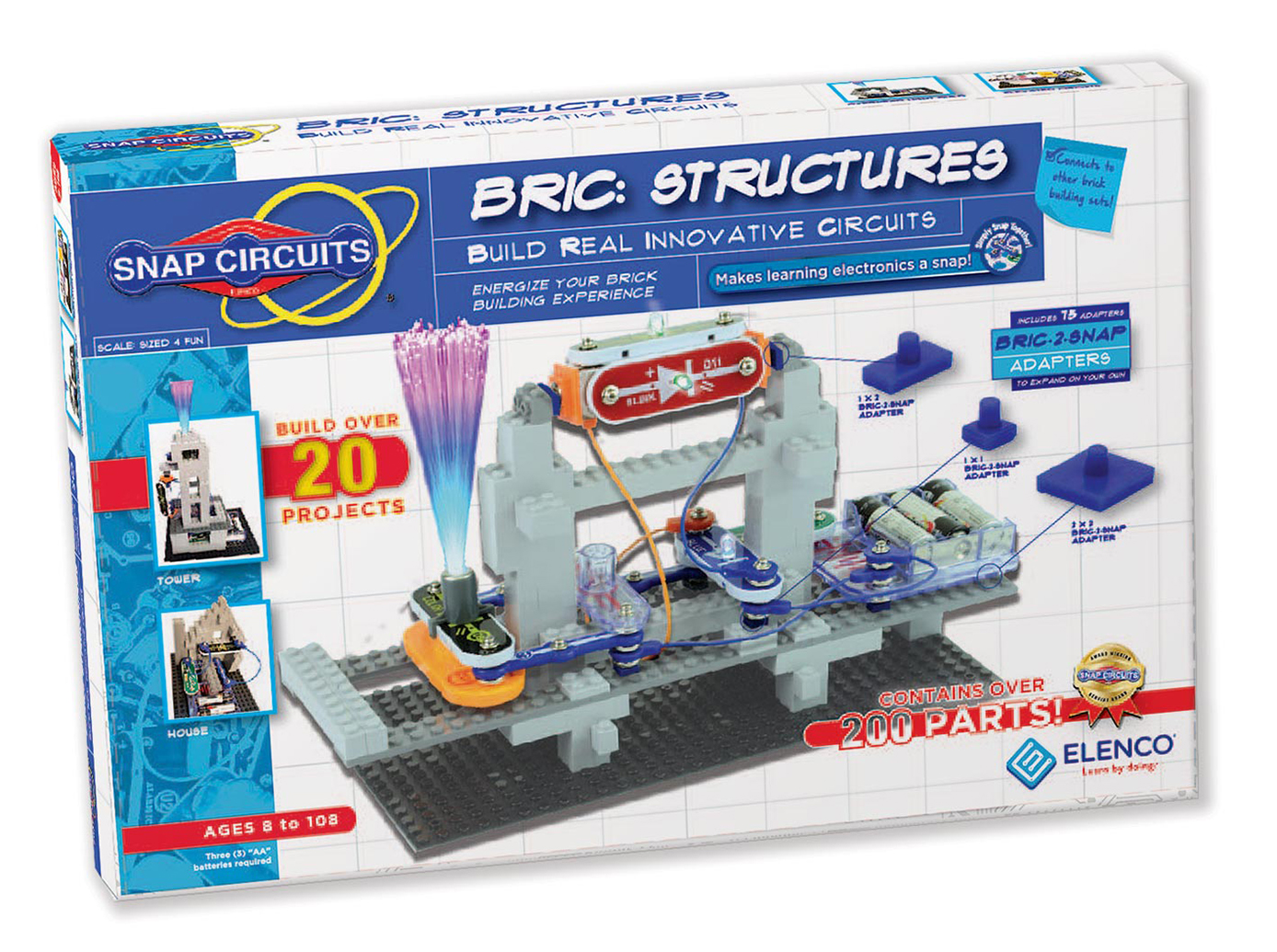 Elenco Snap Circuits Bric: Structures