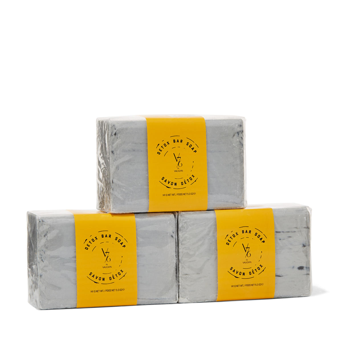 V76 by Vaughn Detox Bar Soap Trio