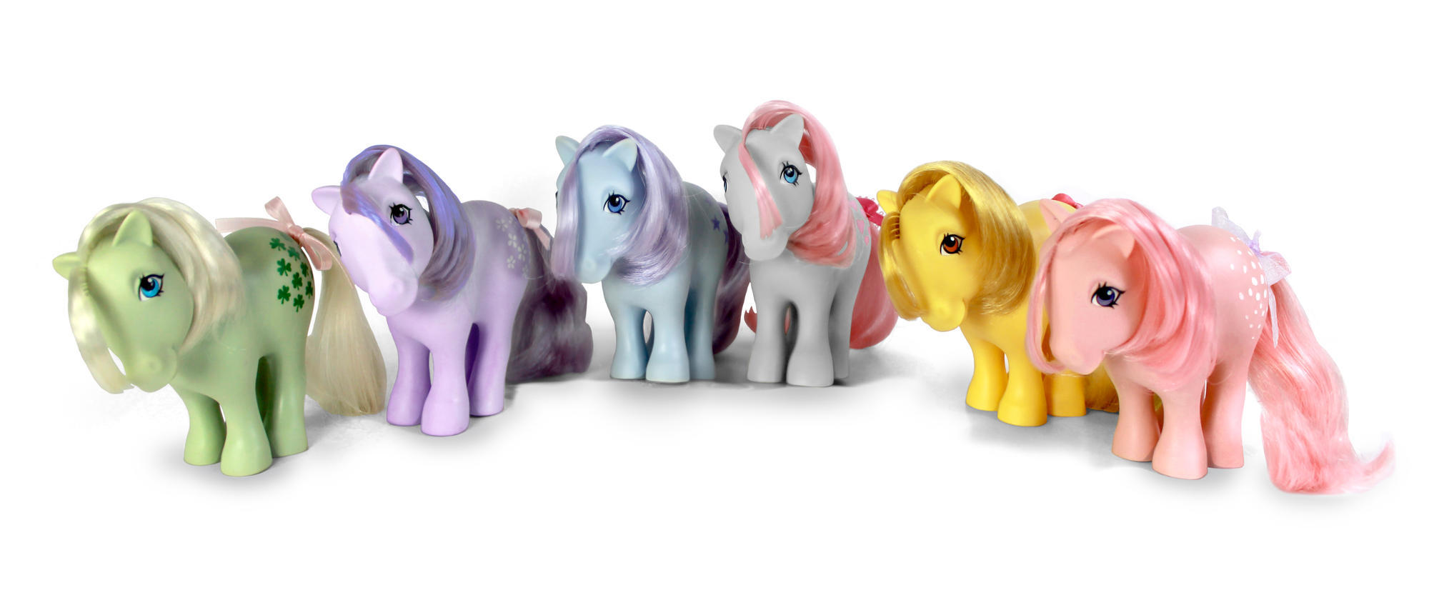 The 6 Original 'My Little Pony' Dolls Are Making a Comeback With a 2018 Makeover