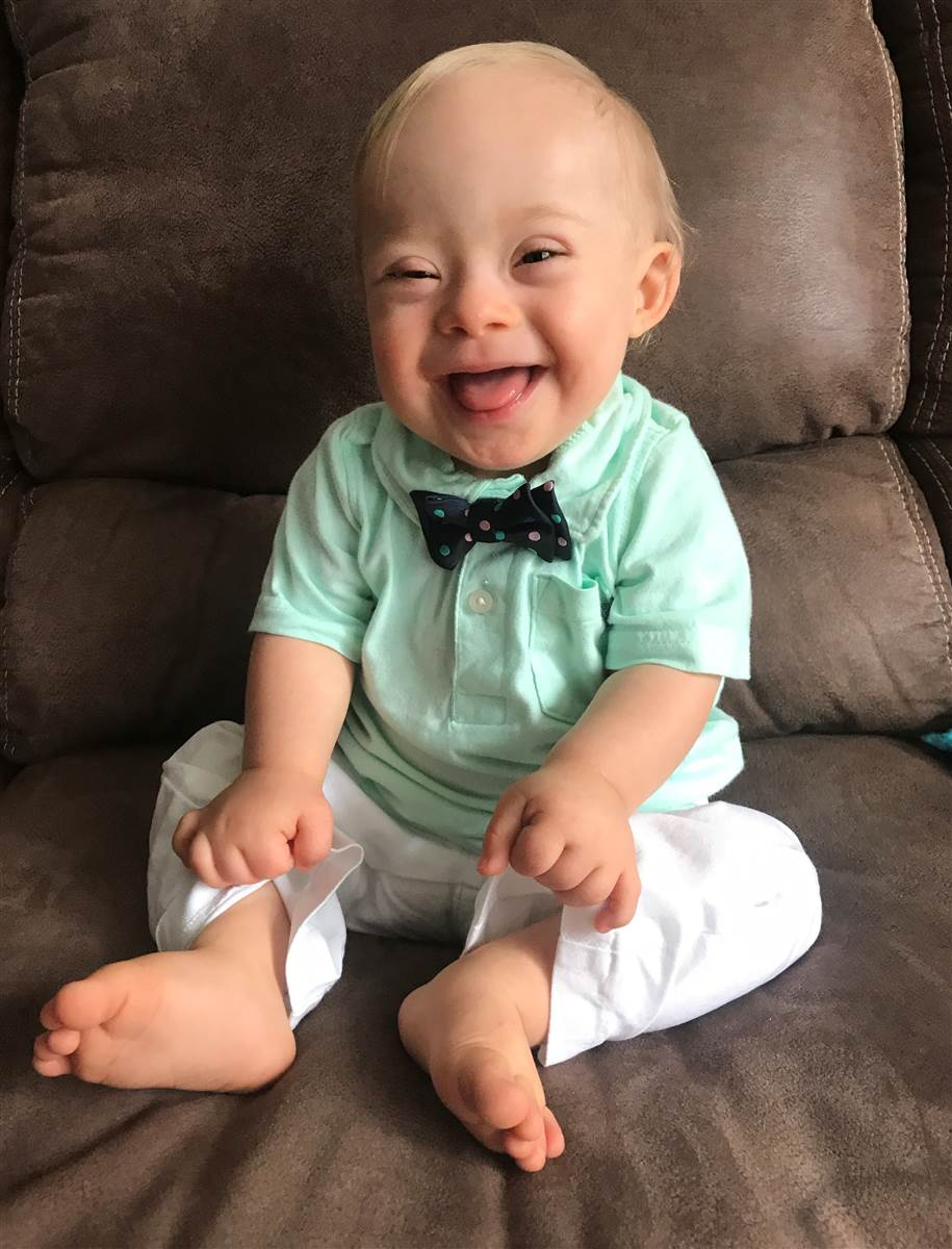The 2018 Gerber Baby Is the First With Down Syndrome (And He Stole Our Hearts!)