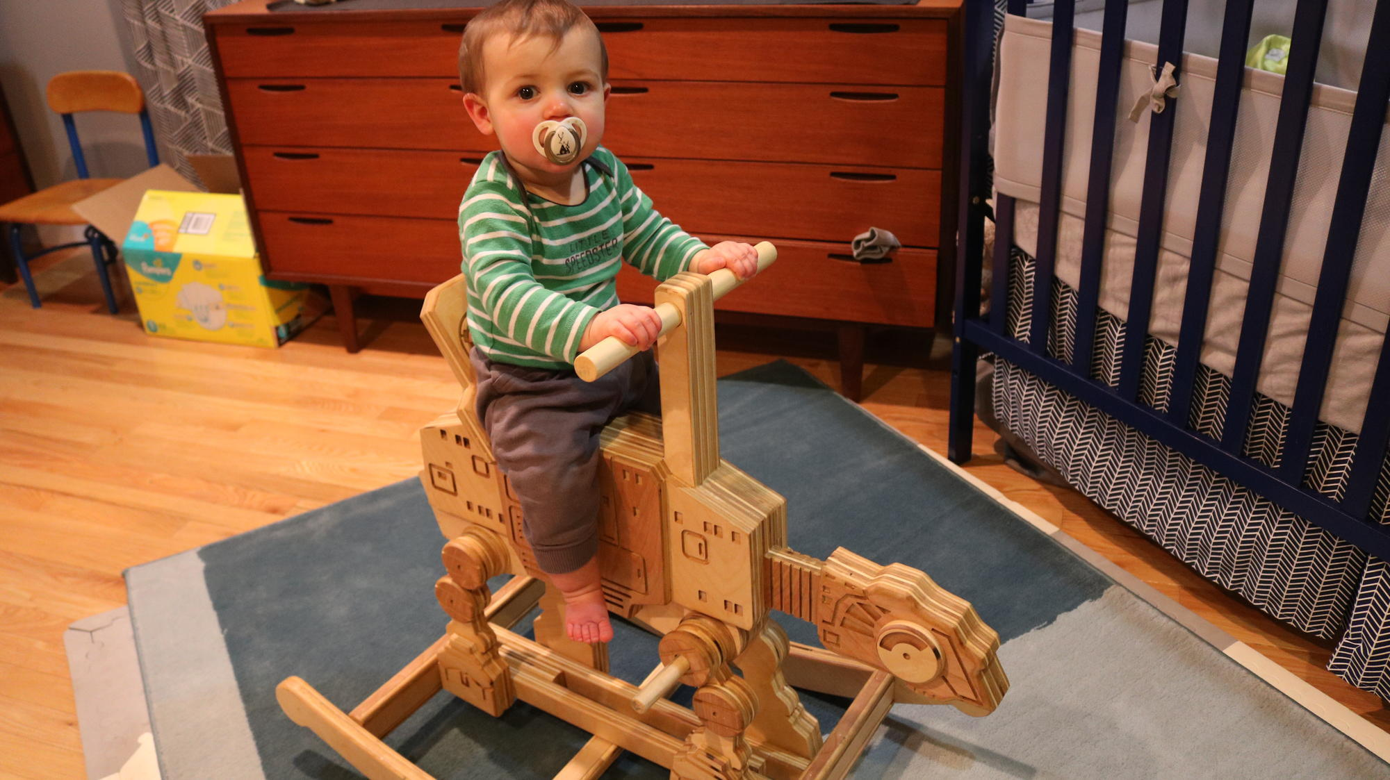 Dad Builds 'Star Wars'-Inspired Baby Furniture So Incredible, Even Yoda Would Approve