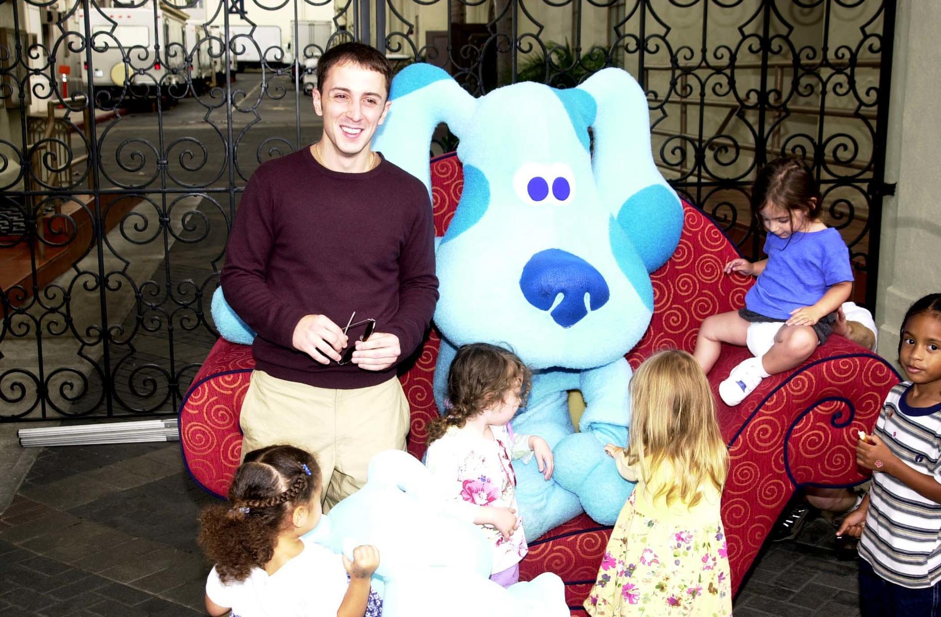Blues Clues Steve Burns