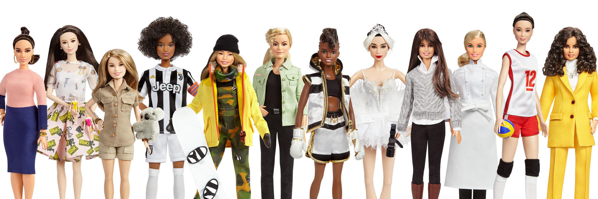 Barbie Creates a 'Sheros' Doll Line Focusing on Inspirational Women