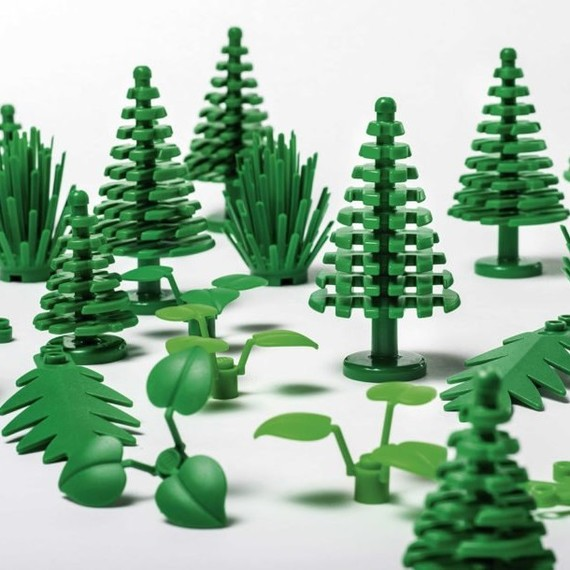 Get a Sneak Peek of Lego's First Collection Sustainably Made From Plants