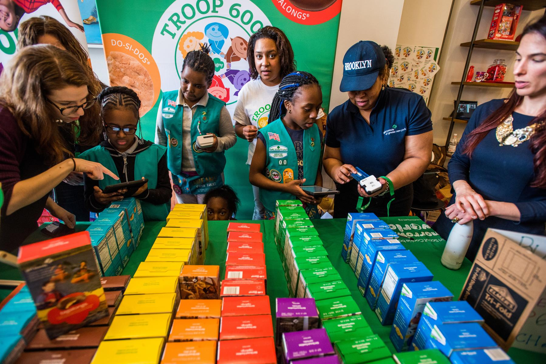 A Girl Scout Troop for Homeless Girls Set Up Shop in NYC With a Big Goal in Mind