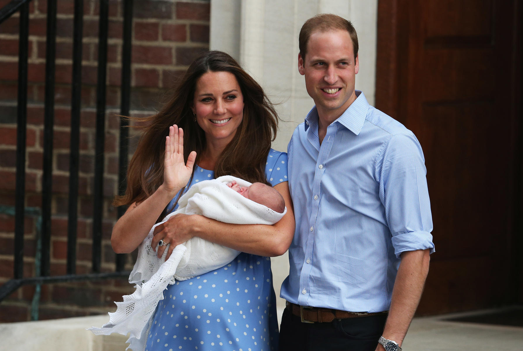 Prince William and Kate Middleton Reveal Their Royal Baby Boy's Name!