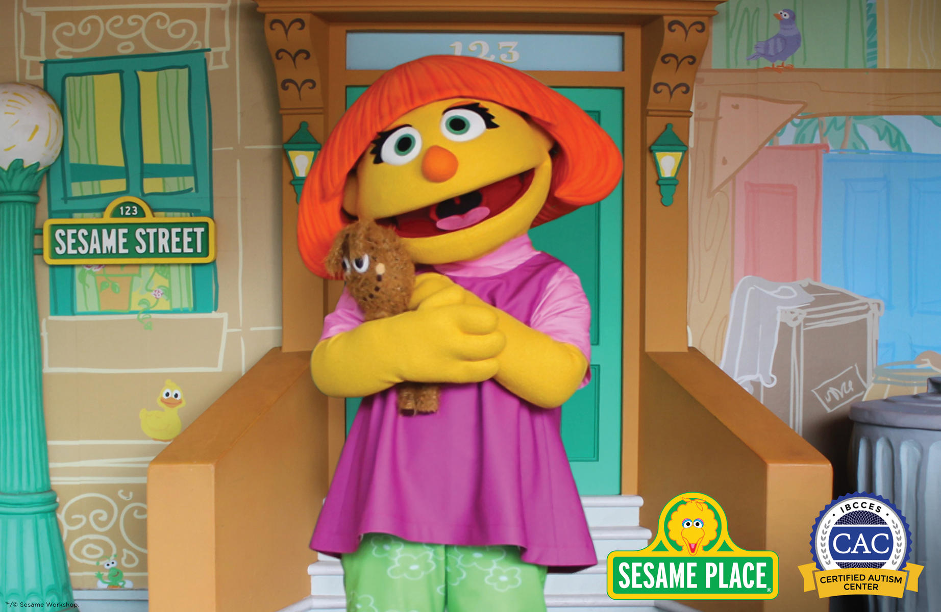 Sesame Workshop Just Took Another Huge Step to Promote Inclusivity Toward Children With Autism Spectrum Disorders