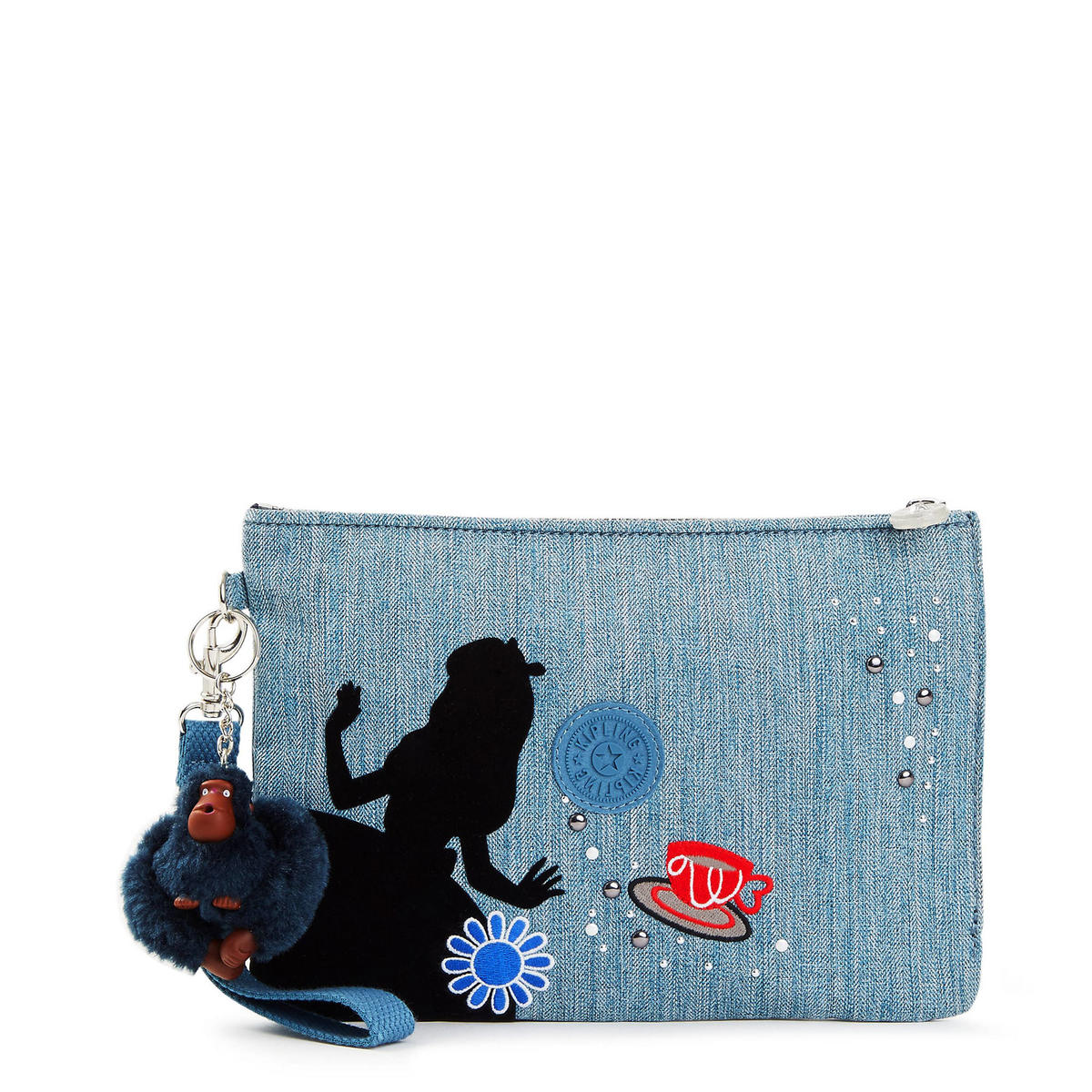 Disney's Alice In Wonderland Large Cosmetic Pouch