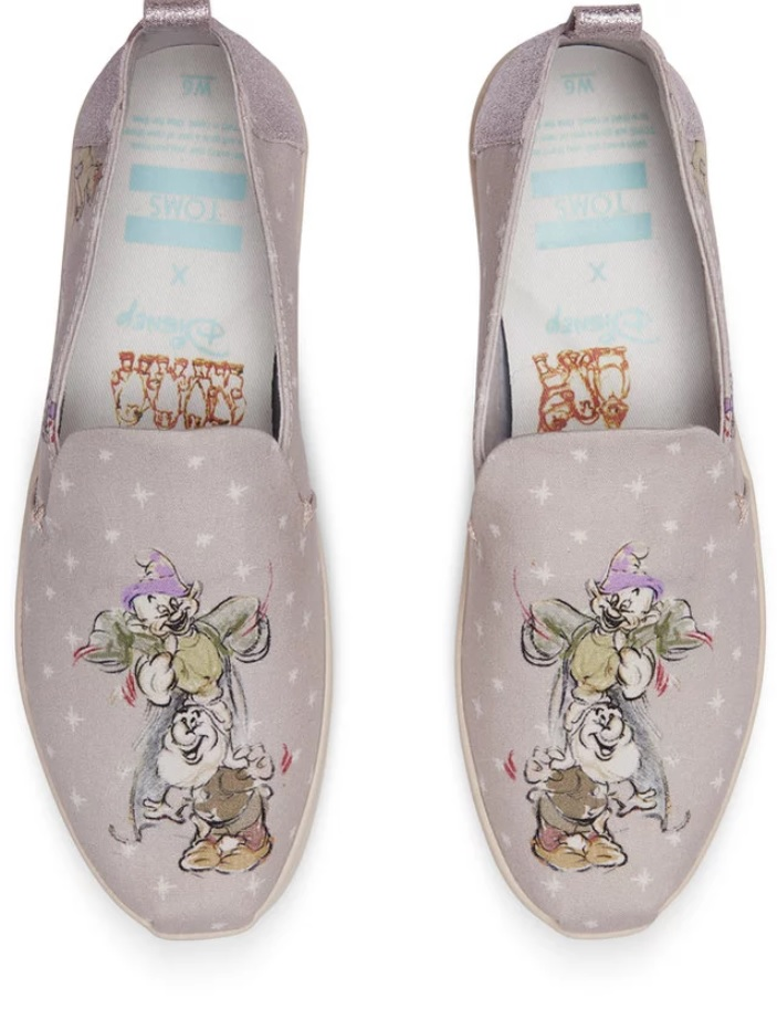 Disney Is Releasing a New Toms Collection, and You're Not Going to Want to Leave These Shoes Behind at the Ball