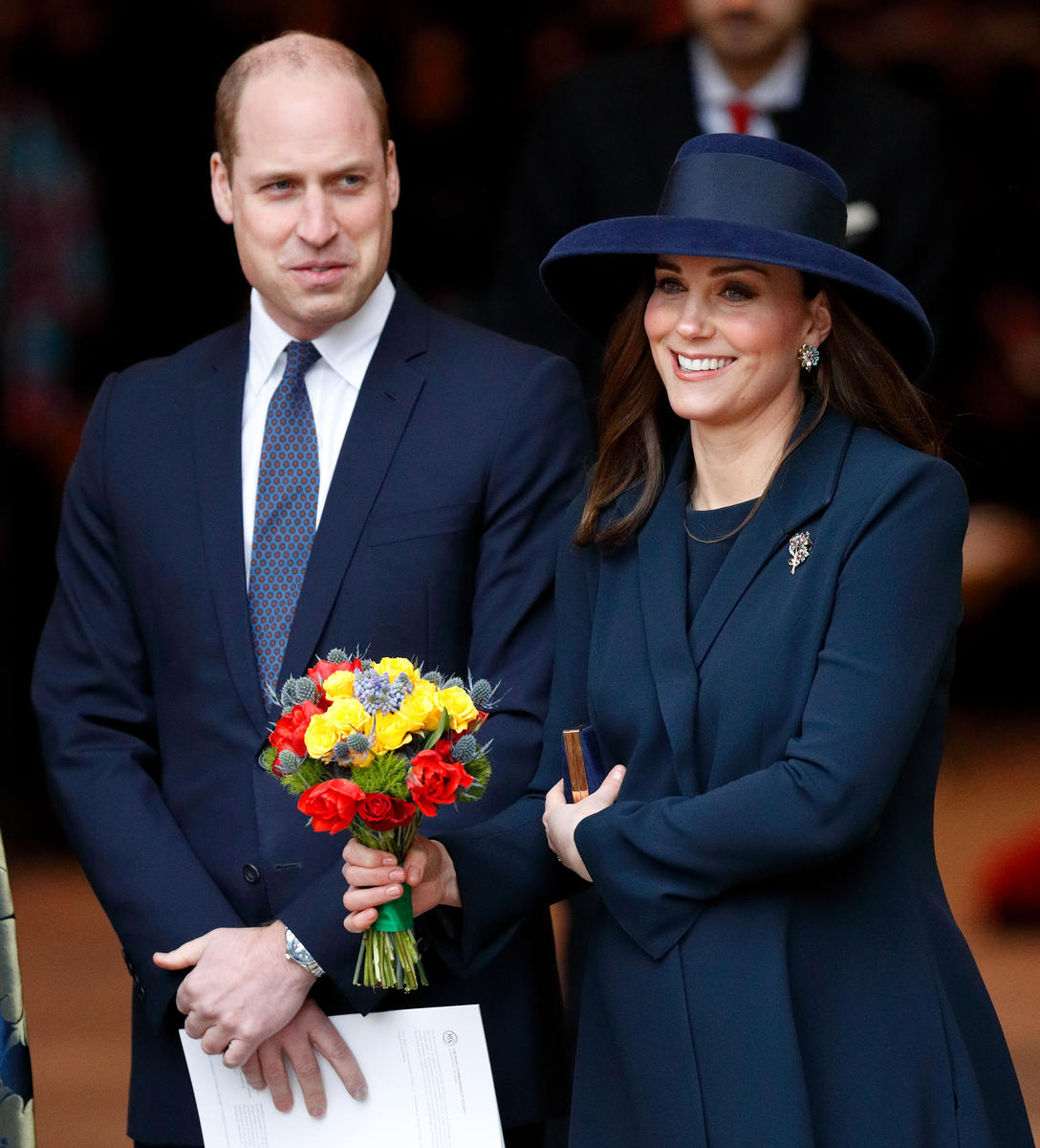 Prince William May or May Not Have Accidentally Revealed the Sex of Royal Baby No. 3
