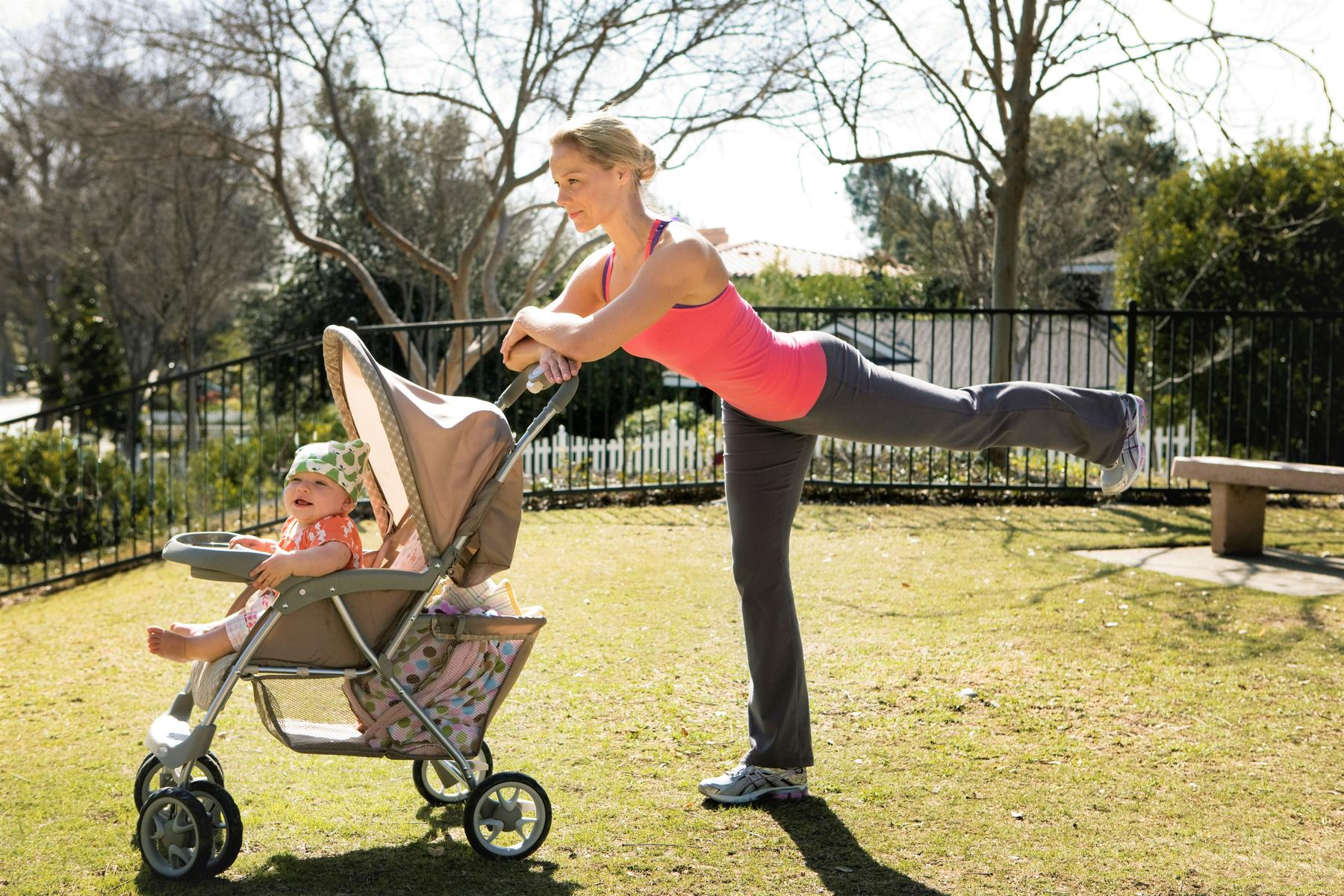 Firm Up With This HIIT Workout Using a Stroller