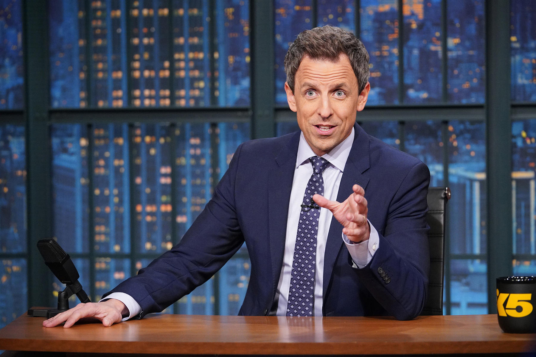 Seth Meyers Shares His Second Baby's Completely Wild Delivery Story