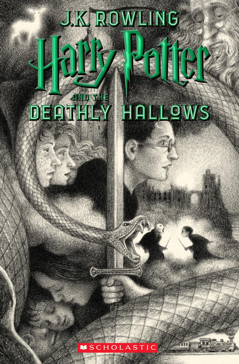 Harry Potter Art Book Cover 7