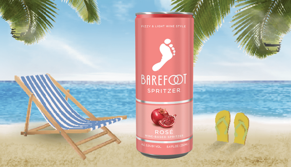 barefoot wine cans spritzers