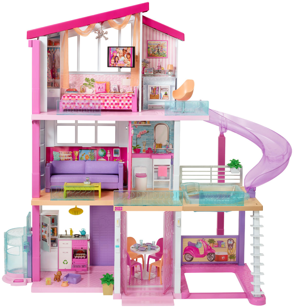 The 2018 Barbie Dreamhouse Would Be a Million-Dollar Listing for Sure