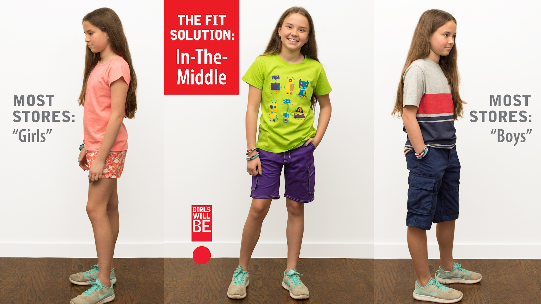 Mom Tired of Short-Shorts and Tight Clothes for Girls Finds a Happy Medium
